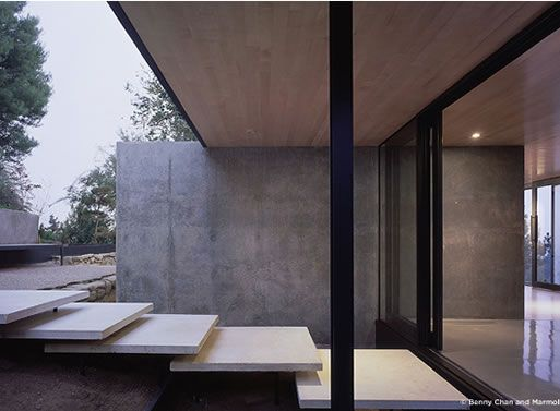 Floating steps. Ladd/Marmol Radziner.#Repin By:Pinterest++ for iPad#
