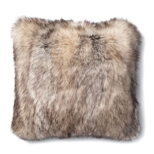 Montana Fur Siberian Husky Cushion