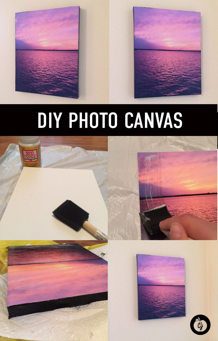 Make your dorm room a home away from home with these fun diy - Easy Diy Photo Canvas For Your Dorm Apartment Or Home