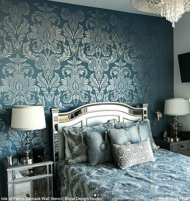 25 Luxurious Ways To Accent A Bedroom Wall Feature Wall Bedroom Luxurious Bedrooms Wall Decor Bedroom