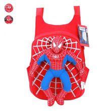 Lindo Bolso escolar de el hombre araña en 3D para niños, bolso escolar de caricatura para llevar en espalda para chicos, mochilas infantiles para chicos y bebé niño(China (Mainland))