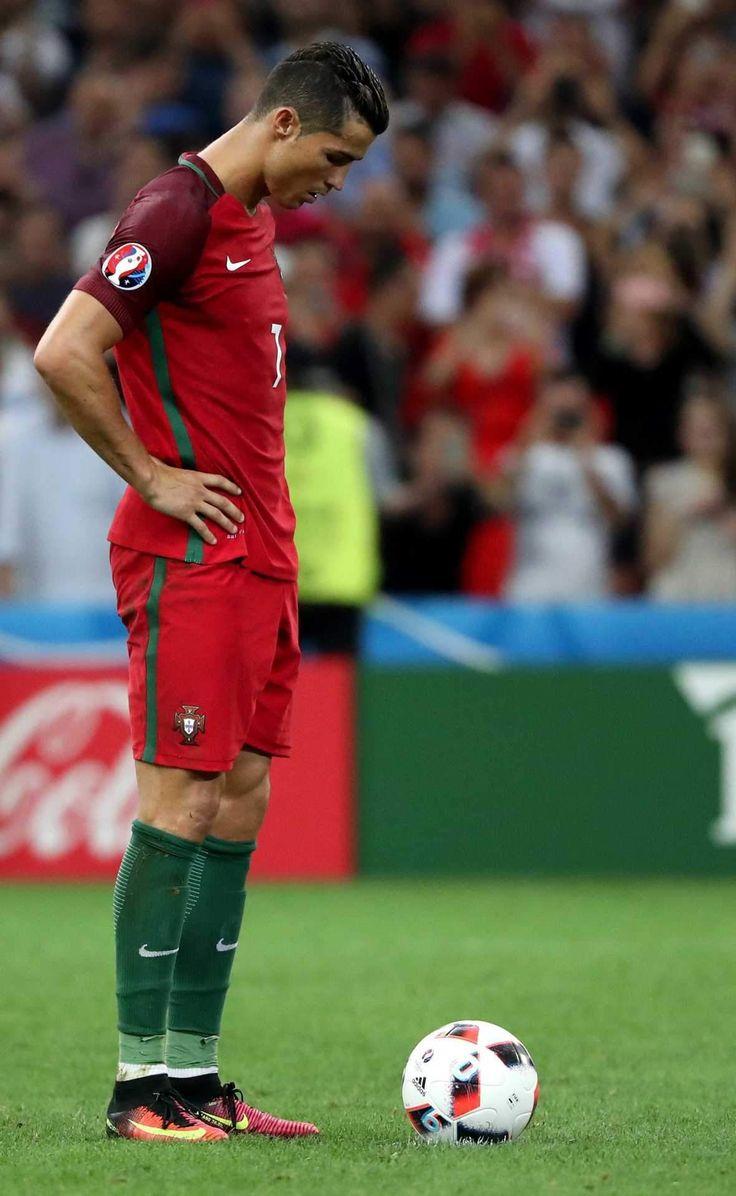 As expressões dos jogadores portugueses na hora dos penáltis