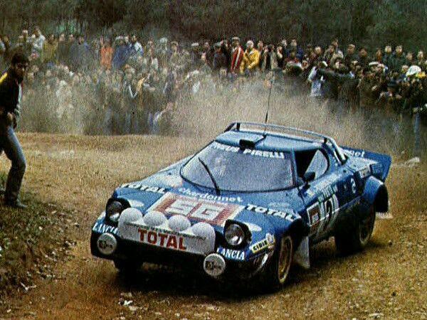 Lancia Stratos Darniche Mahe Portugal 1980