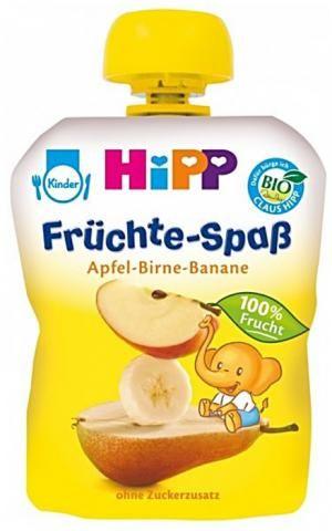Лучшая идея для маленьких космонавтов - #HIPP BIO Пюре - #детское питание по принципу питания космонавтов из тюбика