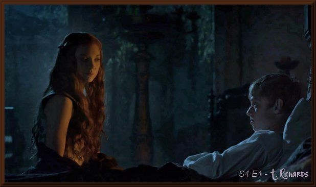 "S4-E4 (4/24/2014): Margaery visiting ""King Tommen"""