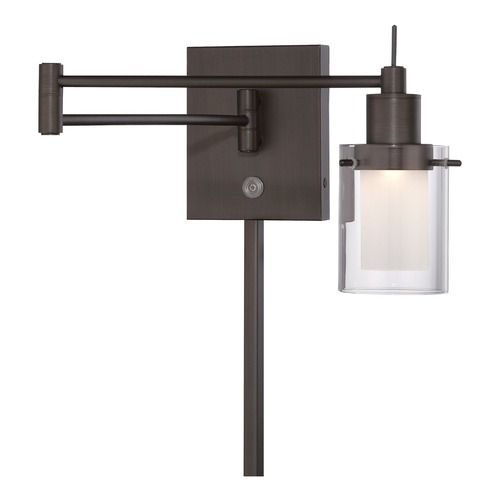 Minka Copper Bronze Patina LED Swing Arm Lamp | P4511-647 | Destination Lighting