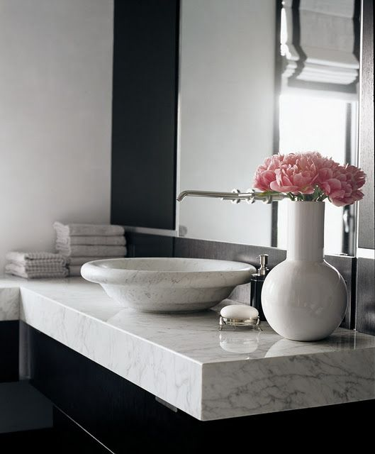 Black Tie Optional Bathroom Countertopsmarble