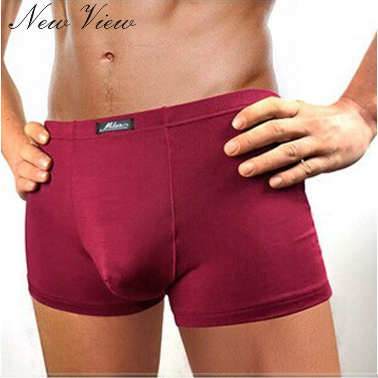 4.7$  Buy here - 2017 New Men's Underwear Boxer Shorts Bamboo Fiber Solid Color Pants Breathable Antibacterial Pantalones Para Hombres   #buychinaproducts