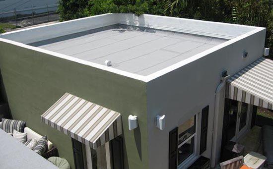 Mengenal lebih dekat, desain atap datar atau flat roof ~ Teknologi Konstruksi Arsitektur