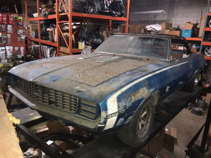 Nice Amazing 1969 Chevrolet Camaro  1969 CAMARO SS 396 CONVERTIBLE 4 SPEED W/ RS OPTION PROJECT CAR 2018 Check more at http://24auto.ga/2017/amazing-1969-chevrolet-camaro-1969-camaro-ss-396-convertible-4-speed-w-rs-option-project-car-2018/