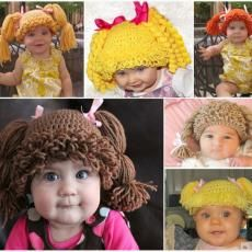 Cabbage Patch Hats @jennynitzsche  oh man idk if these are cute or weird lol