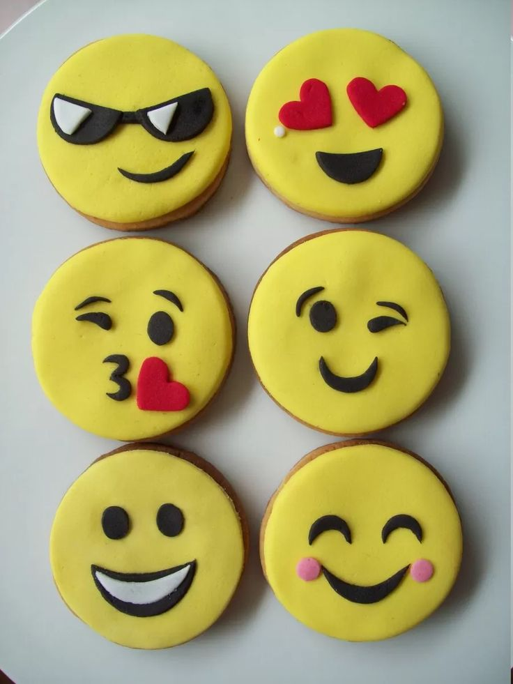 cookies - galletas decoradas emoticon