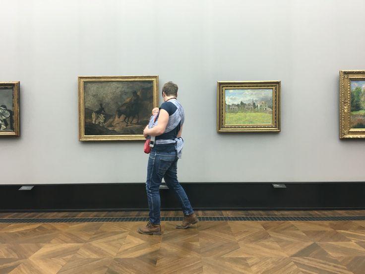 Alte museum,Berlin,with Baby.😘