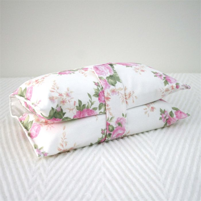 Nappy Wallet - Pink & White Floral | Vicki Elle | madeit.com.au