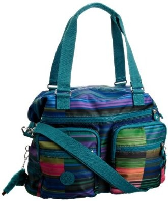 Funky coloured kipling bag!