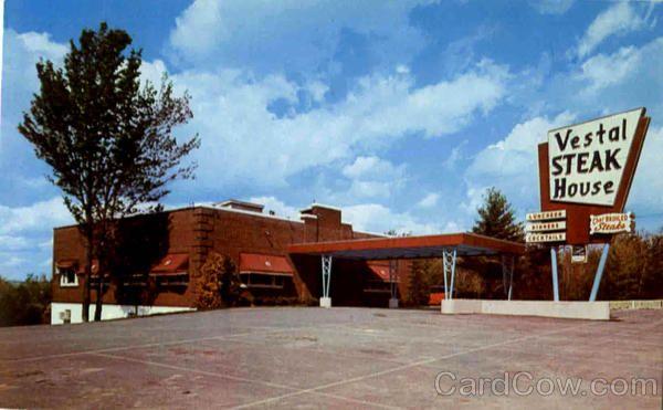 The Vestal Steak House, U. S. Route 117 | Vintage ...