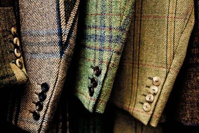Tweed is the first thing that comes to mind when I think of typical english…