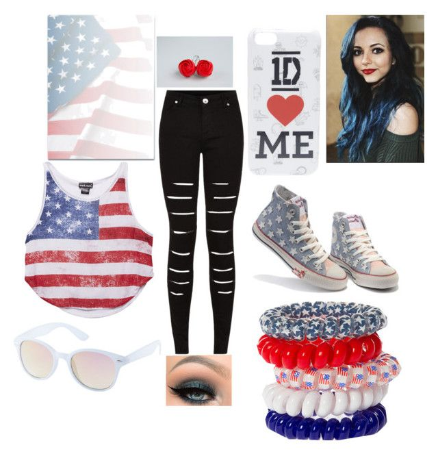 """""""Indepedence day"""" by msstylesmshoran ❤ liked on Polyvore"""