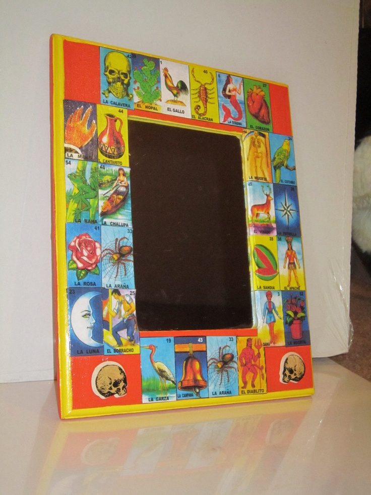 1000 images about mexican loteria on pinterest kitsch for Mirror bingo