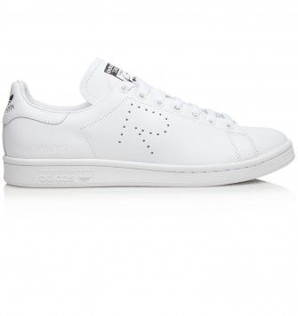 ADIDAS RAF SIMONS STAN SMITH. White. £225.00