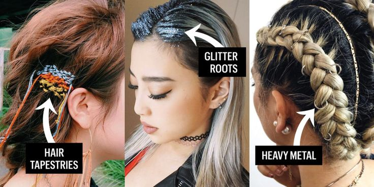 5 Festival-Ready Hairstyles That Are Actually New and Cool