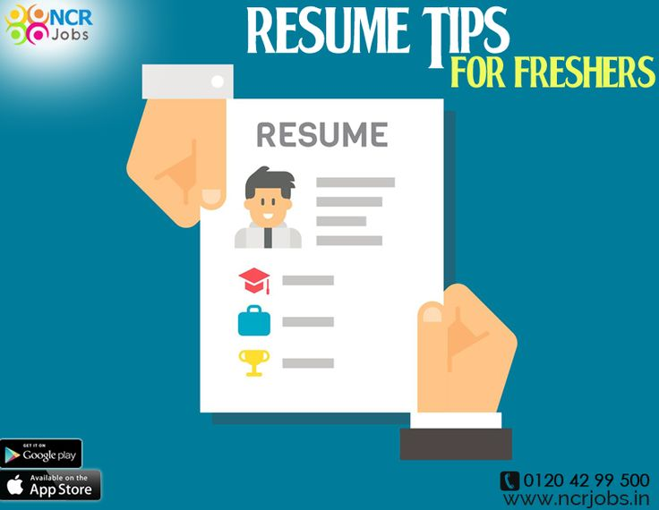 Following #ResumeTipsforFresher one can easily get an idea of how to prepare resume and get work done accordingly. Resume is the most valuable source for candidates to get hired. See more @ http://bit.ly/2s8gCZp #NCRJobs #ResumeTips