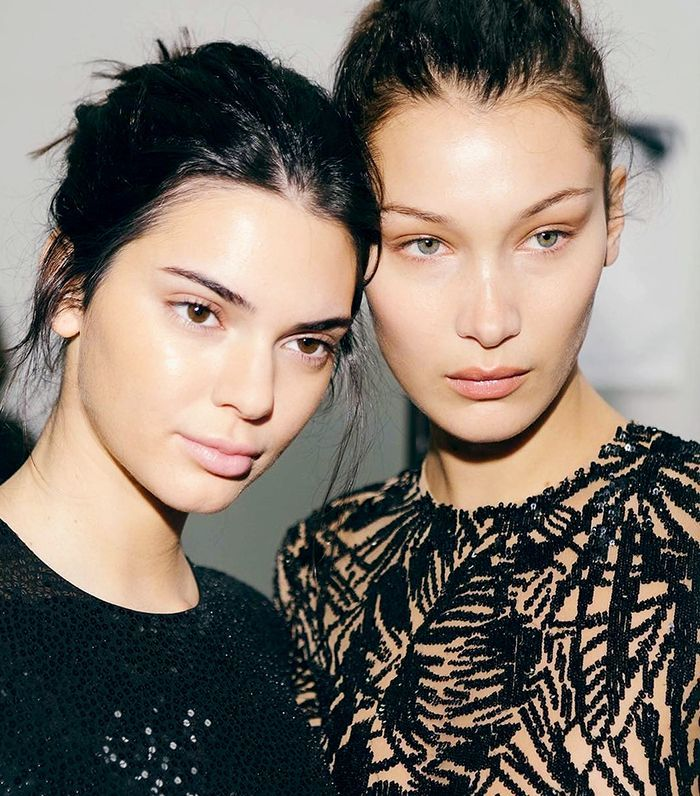 Kendall and Bella Wore This Foundation With a Cult Following via @ByrdieBeauty