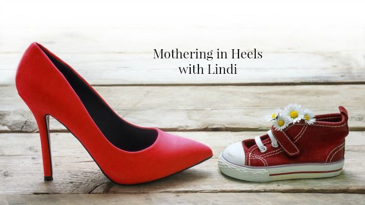Finding work-life balance as a working mom in our new column Mothering in Heels with Lindi