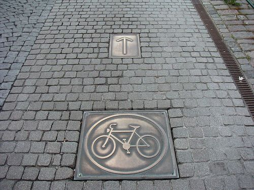 Noble materials on this cycle path in Copenhagen. Visit the slowottawa.ca boards >> http://www.pinterest.com/slowottawa/