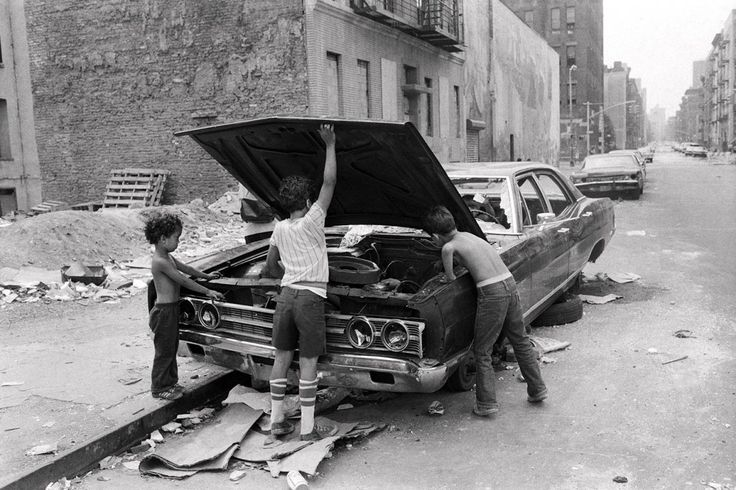 Lower East Side, New York City, 1978  Martha Cooper