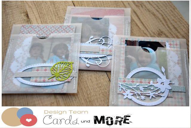 (adzia) mary czary: cards und more inspiration - Photo pockets