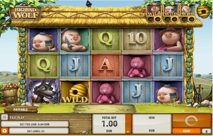 Pin on Big Bad Wolf Casino Game