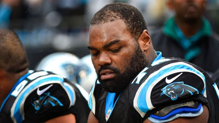 Michael Oher doesn't like 'The Blind Side,' but Panthers teammates love movie, and him