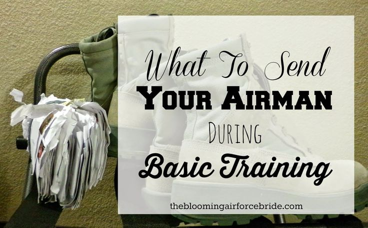 What To Send Your Airman During Basic Training BMT, Air Force, Military, Letters, Care Packages, Stamps
