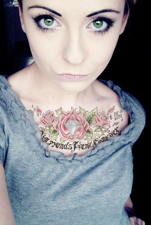 17 best images about chest piece on pinterest emo scene for Sweet chest tattoos