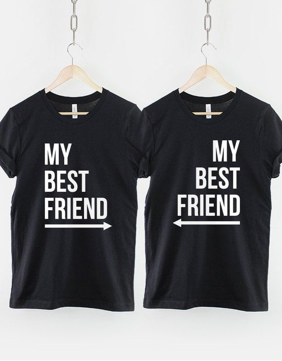 Funny BFF Matching Shirts Details about  /Cute Best Friend T Shirts Freak and Weirdo