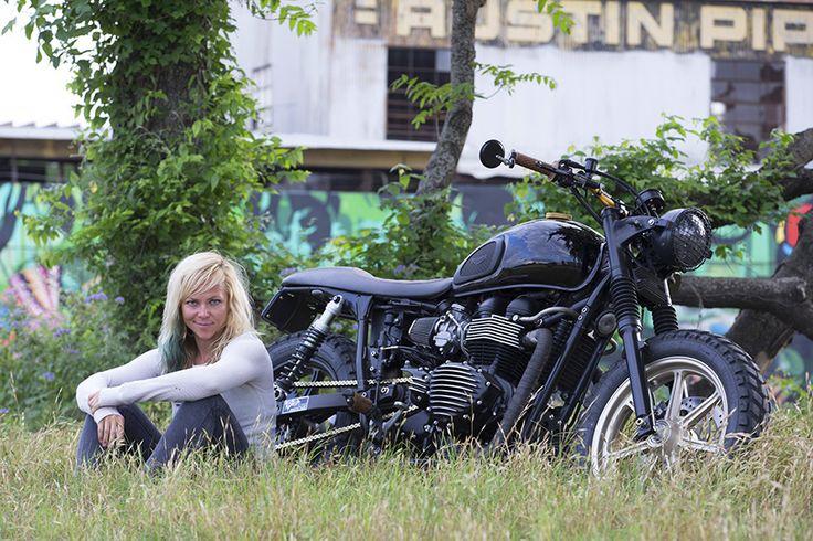 Jessi Combs' amazing Carpenter Racing Bonneville captured in Austin