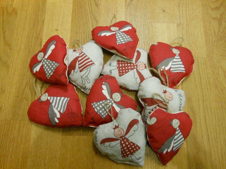 P.S. handmade: Vánoční srdíčka...