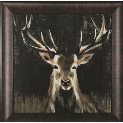 Art Effects 'Young Buck' Framed Painting Print