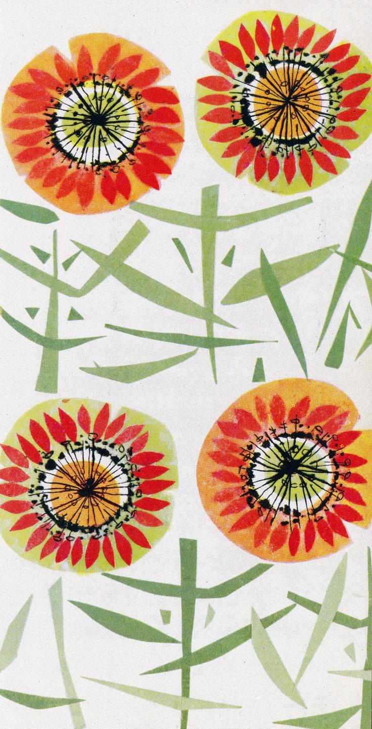 Kirjasta Finnish vintage fabric - from book: Porin Puuvilla 1898 - 1957