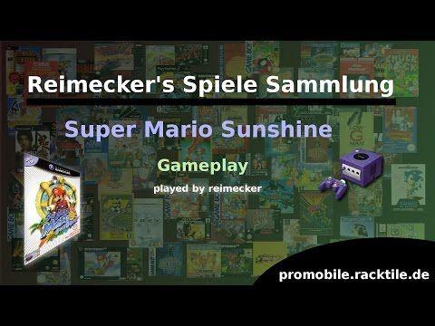 Reimecker's Spiele Sammlung : Super Mario Sunshine