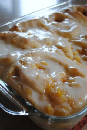 Pineapple Sweet Rolls Recipe ~ YUM! I know a lovely 91 year young lady that will love these!! Easier than you might think to make!