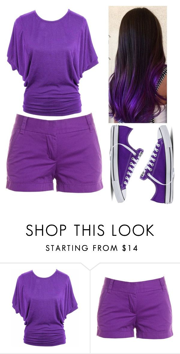 """21"" by cristina-vanau on Polyvore featuring jon & anna, J.Crew and Converse"