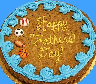 father's day giant cookie