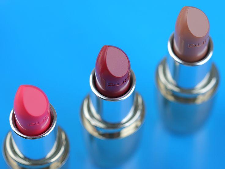 Стойкая помада для губ Пупа - Новая коллекция - Soft & Wild I'M Lipstick. Отзывы. Фото. Свотчи. Макияж.
