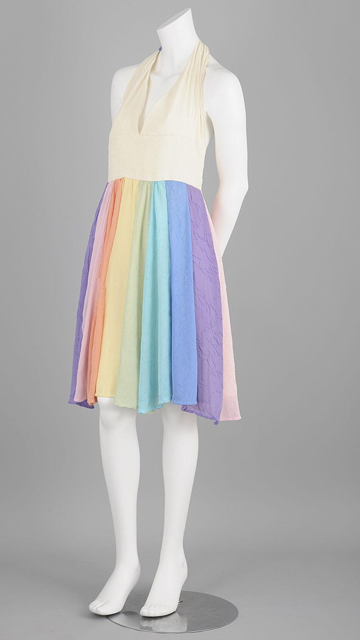 Rainbow Pastel Dress - Juno Says Hello