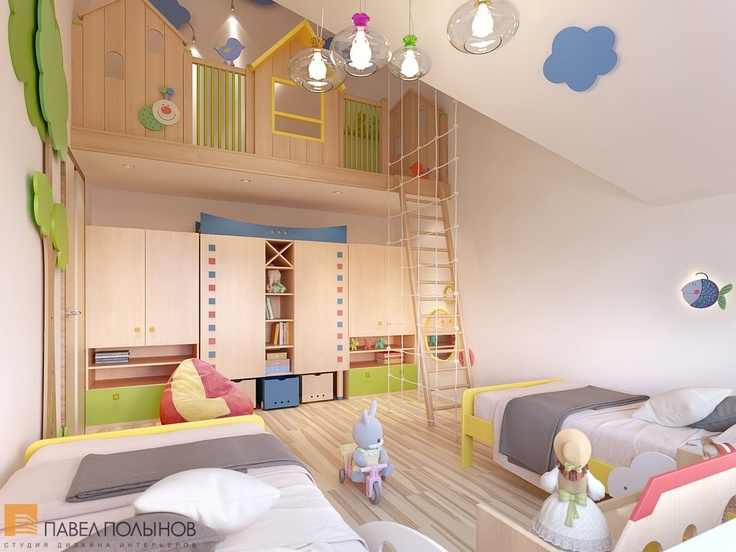 Детская комната / kids room / kids room idea / kids room decor / kids room design / by Pevel Polinov Studio #design #interior #homedecor #interiordesign