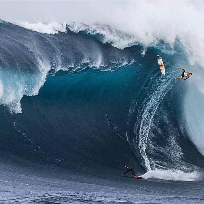 coisasdetere:      O desafio das ondas gigantes…       Ops…