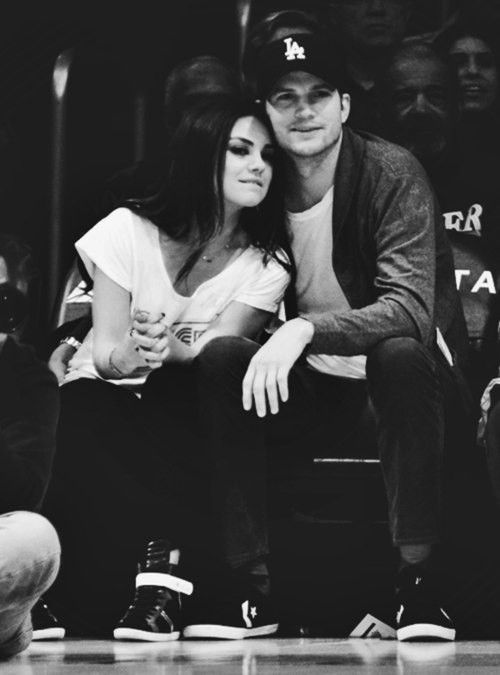 Leo - Aquarius - Mila Kunis and Ashton Kutcher - http://www.simplysunsigns.com/