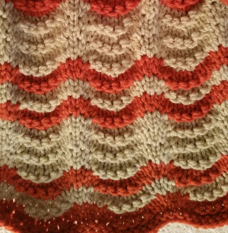 Knitted Zig Zag Afghan Pattern : 17 Best images about Carols knits on Pinterest Free pattern, Lace knitting ...
